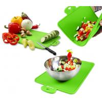 Quality Protable Health Durable Green Silicone Chopping Board of 7mm Thickness wholesale