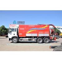 Quality Professional T5G Sewage Pump Truck , Sewer Cleaning Truck Large Capacity wholesale
