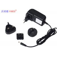Quality 12V 2A Multi Plug AC Adapter , ABS Material Universal AC To 12v DC Power Supply wholesale