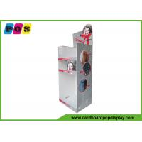 China Portable Floor Cardboard Display Stands For Hair Dryer And Hair Straightener on sale