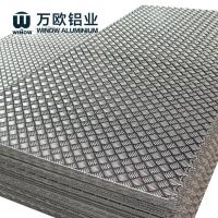 Quality 1100 1050 1060 Aluminium Chequered Plate , Aluminum Alloy Checker Plate wholesale