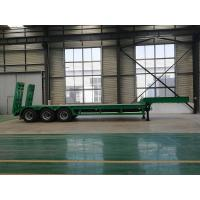 China High Strength Heavy Haul Trailer 6 Double - Chamber 500mm Main Beam on sale