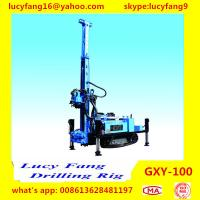 Quality China Cheapest Multi-function  Crawler GXY-100 Jet-grouting Drilling Rig With Triple Tube wholesale