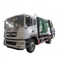 Quality New dongfeng 4*2 12-14m3 refuse collector solid waste garbage refuse truck for sale, compacted garbage truck for sale wholesale