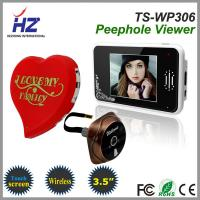 Quality 3.5''touch screen 2.4GHz wireless door peephole ir night vision camera wholesale