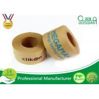Quality Environmental Reinforcement Kraft Paper Tape For Sealing / Packaging wholesale
