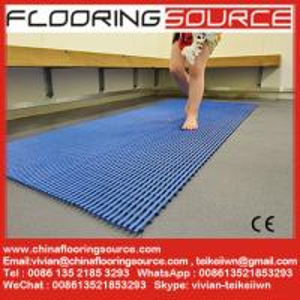 Quality PVC Tubular Matting Anti-slip Bath Room Mat Locker Room Mat Changing Room Mat wholesale