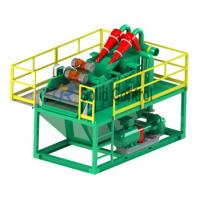 Quality Piling and Drilling Mini size mud recycler shale shaker mud desander, centrifugal pump wholesale
