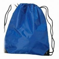 Buy cheap Nylon Drawstring Bag, Customized Designs are Welcome from wholesalers