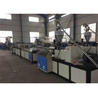China Deck Board WPC Extrusion Line With Conical Twin Screw Extruder on sale