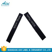 Quality Garment Woven Clothing Label Tags Satin / Silk Printing Fast - Delivery wholesale
