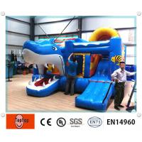 Quality amusement park Commercial Inflatable Bouncers tarpaulin Environmental wholesale