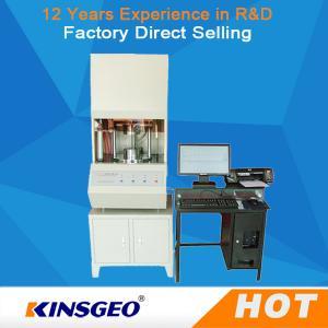 Quality ASTM A015 Rubber Testing Machine , Abrasion Testing Machine 210kg wholesale