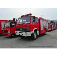 Quality Rescue Fire Truck With Fire Engine 5500Liters Water , Fire Brigade Vehicle wholesale