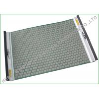 Quality Single Side Tension Drying Rock Shaker Screen For Solids Control Longer Screen Life wholesale