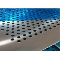 Quality Professional Design Perforated Metal Mesh Plate Stainless Steel Round Hole wholesale