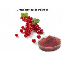Quality Pure Cranberry JFruit Juice Powder High Proantho Cyanidins For Function Foods wholesale