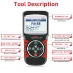Quality Multi - Language Car Scanner Diagnostic Live Data Code Reader Konnwei KW820 With STM32F103C8T6 Chip wholesale