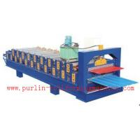 Quality Standing Seam Roof Panel Roll Forming Machine / Corrugated Rolling Forming Line wholesale