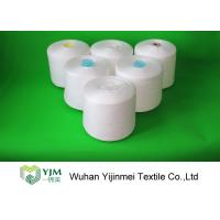 Quality Ring Spinning 100 Polyester Sewing Thread Yarn On Plastic Dyeing Cones wholesale