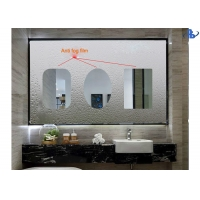 China Shower Doors Transparent Single Sided Anti Fog Mirror Film on sale