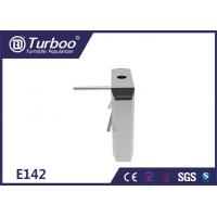 Quality 304 Stainless Steel Tripod Turnstile Gate / Turnstile Entry Security Systems wholesale