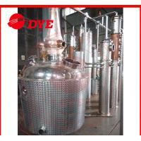 Quality 500L Red Copper Commercial Distilling Equipment , Alcohol Still Kits wholesale