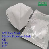 China High Durability 3m N95 Face Mask Flame Retardant Filter Cotton Anti Dust on sale