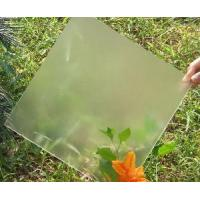 Cheap Low Iron Patterned Solar Glass for sale