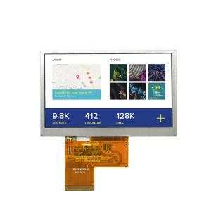 "Quality FCC 480x272 4.3"" TFT LCD Display wholesale"