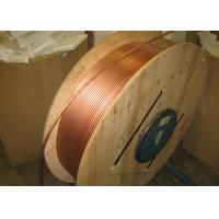 Quality Custom Length Copper Coil Tubing / Pancake Coil Copper Pipe 0.1 - 200mm Wall Thickness wholesale