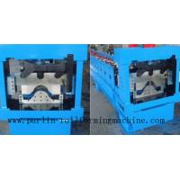 Quality Panasonic PLC Control System For Automatical Valley Flashing Ridge Cap Tile Roll Forming Machine wholesale