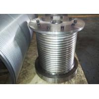 Quality High Strength Crane Drum , Wire Rope Winch Drum For 22mm Diameter Cable wholesale