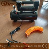 Quality Double 30mm Cyclinder 12V Portable Air Compressor 8 Bar Max Pressure wholesale
