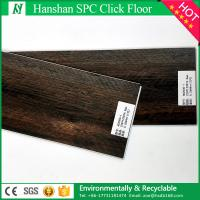 China Supreme Click 7mm Wood Textured WPC Engineered Vinyl Flooring on sale