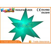 Cheap LED Flower And Star Inflatable Lighting Decoration For Party / Stage Decoration for sale