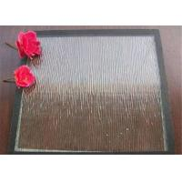 China Clear Bronze Mistlite Patterned Glass Sheets , Textured Patterned Glass For Decoration on sale