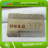 China Elegant Metal Card for Valued Customers Loyalty System on sale