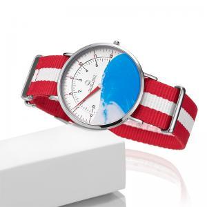 Quality Single Needle Children Nylon Strap Watch For Swimming wholesale