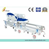 China Alloy Aluminum Hospital Stretcher Trolley, Transfer Cart With Central Controlled Braking System ALS-ST009 on sale
