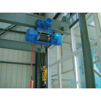 Quality CD / MD Type Electric Wire Rope Hoist For Overhead Crane , High Performance wholesale