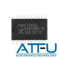 Quality 74HCT245D SOIC-20 8 Bit Transceiver with 3 State Outputs Programmable IC Chip wholesale