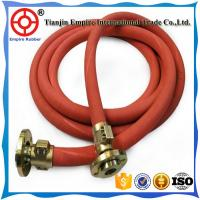China Red cover steel wire reinforced high temperature high pressure steam rubber hose on sale