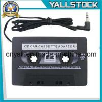 China Car Cassette Tape Adapter for iPod MP3 iPhone -I2258 on sale