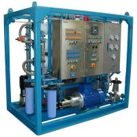 Quality 380 - 7600 GPD Reverse Osmosis Water Systems , Sea Water Desalination Systems wholesale