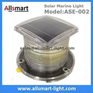 Buy cheap 15LED Solar Marine Aquaculture Lights ASE-002 Buoys Navigation Hazard Warning Lights Flash Steady Type Solar Dock Light from wholesalers
