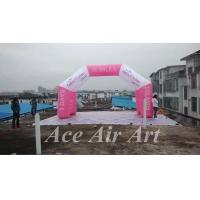 Quality customize outdoor 4 legs advertising inflatable arch for commercial use wholesale