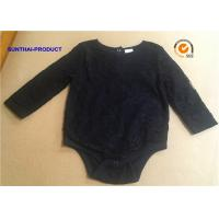 Quality Fashion Newborn Baby Bodysuits Double Layers Long Sleeve Bodysuit Baby Girl wholesale