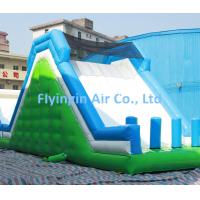 China Giant Pvc Inflatable Rock Climbing and Inflatable Water Slide with Blower for Sale on sale