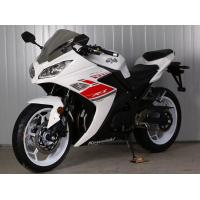 China Gas Motor  Street Sport Motorcycles , 250cc Cool Sport Bikes/ Street Bikes White Color on sale